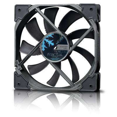 Fractal design Hardware koeling: Venturi HP-14 PWM - Zwart, Grijs