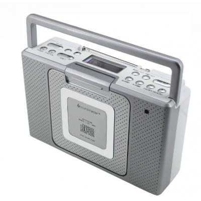 Soundmaster CD-radio: BCD 480 - Zilver