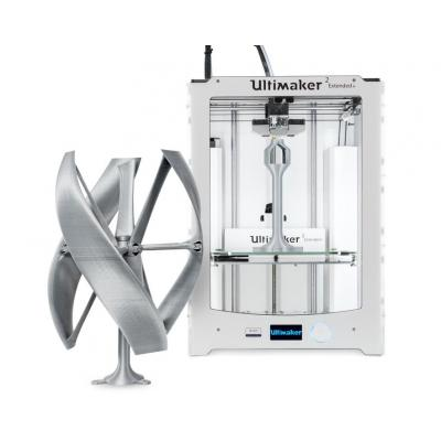 Ultimaker 3D-printer: 2 Extended+ - Zilver