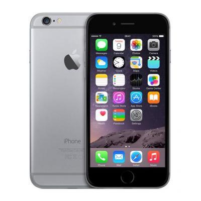 Apple smartphone: iPhone 6 128GB Space Gray - Refurbished - Zichtbare gebruikssporen  - Grijs (Refurbished LG)