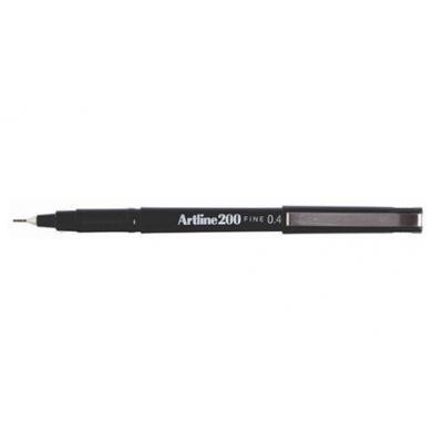 Artline fijnschrijver: 200 - Zwart