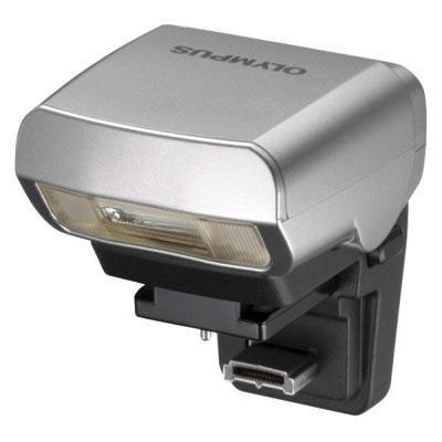 Olympus camera flitser: FL-LM1 - Zwart, Zilver