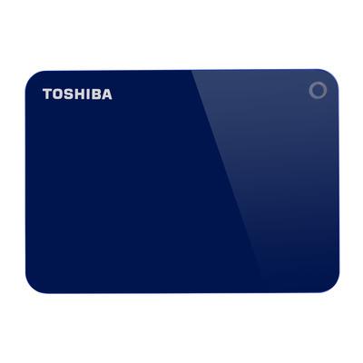 Toshiba Canvio Advance Externe harde schijf - Blauw