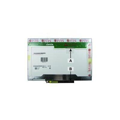 2-power notebook reserve-onderdeel: 14.1'' 1280x800 WXGA CCFL1 Matte - Zwart