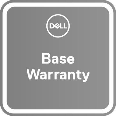 Dell garantie: 1Y Basic Onsite Service – 3Y Basic Onsite Service