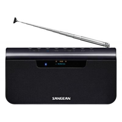 Sangean radio: 10 DAB+, 10 FM, Bluetooth A2DP, AVRCP, NFC, LCD display, DC, USB, AUX, 220 x 114 x 37.5 mm, 736 g, dark .....