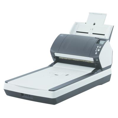 Fujitsu fi-7260 Scanner - Zwart, Wit