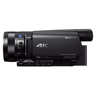 Sony digitale videocamera: FDR-AX100E - Zwart