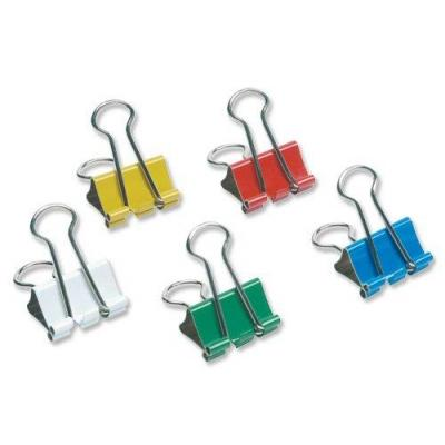 5star paperclip: Double clip in models from 41 mm Assorted, Pack of 12 Pieces - Multi kleuren