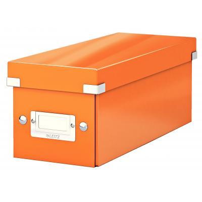 Leitz : Click & Store-cd-opslagbox - Oranje