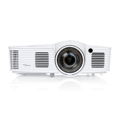 Optoma 3000 ANSI lumens, 1920 x 1080, 16:9 Native, 20000:1, f=7.42mm, Fixed Zoom, 2 x HDMI (1.4a 3D support) & .....