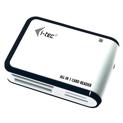 I-tec USBALL3 Geheugenkaartlezer - Zwart, Wit