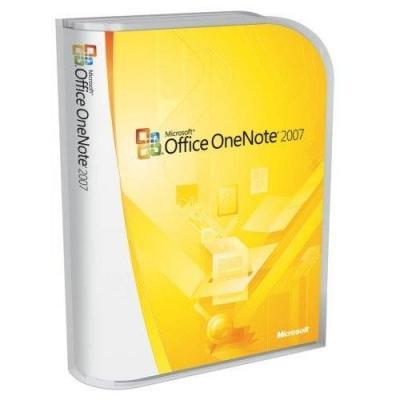 Microsoft desktop publishing: OneNote 2007 (NO)
