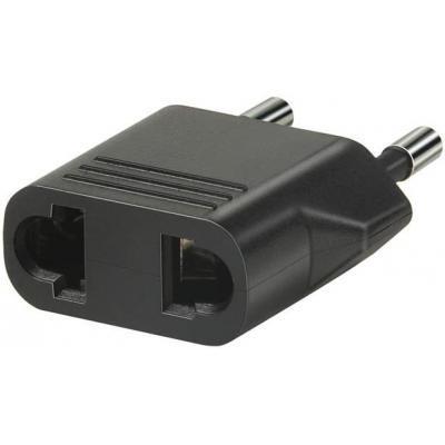 Brennenstuhl netvoeding: Travel Adapter USA, Japan/earthed - Zwart