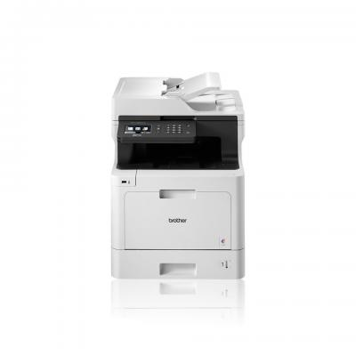 Brother multifunctional: All-in-one kleurenlaserprinter MFC-L8690CDW - Zwart, Cyaan, Magenta, Geel