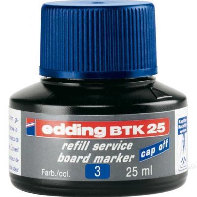 Edding inkt: BTK 25 - Zwart, Blauw