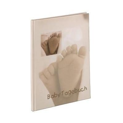 """Hama album: Baby Diary """"Baby Feel"""" - Beige"""