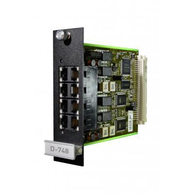Agfeo telefonie switch: D-748 - Zwart, Groen