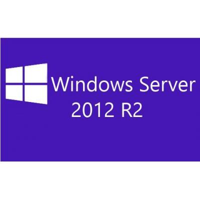 IBM Windows Server 2012 R2 Standard, ROK, 2 CPU 2VM, ML Besturingssysteem