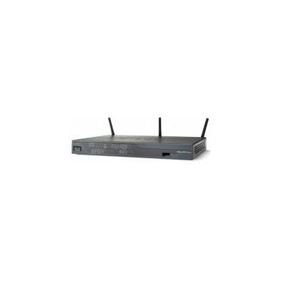 Cisco 888 wireless router - Zwart