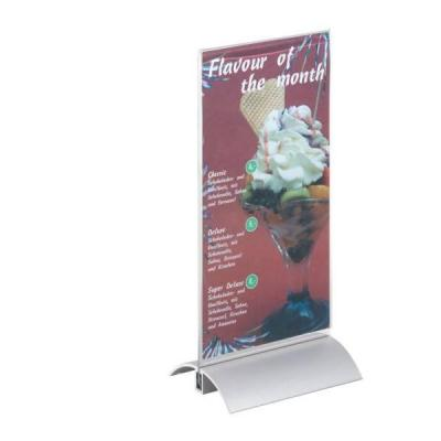 Durable naambord : PRESENTER 1/3 A4 - Transparant