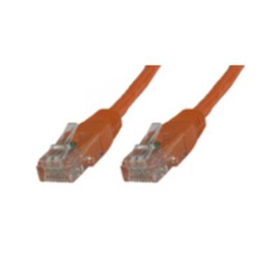 Microconnect U/UTP CAT6 0.4M Orange LSZH Netwerkkabel - Oranje