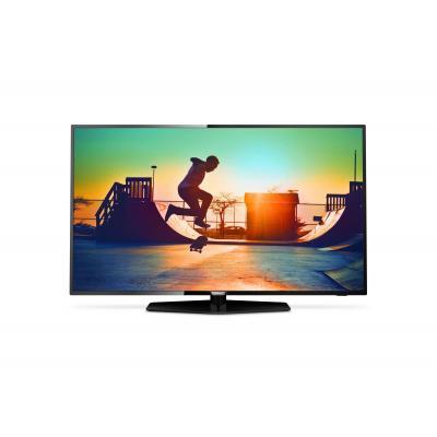 Philips led-tv: 6000 series Ultraslanke 4K Smart LED-TV 55PUS6162/12 - Zwart