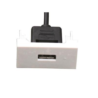 Garbot FA-2420-P-USB-A-F/F Wandcontactdoos