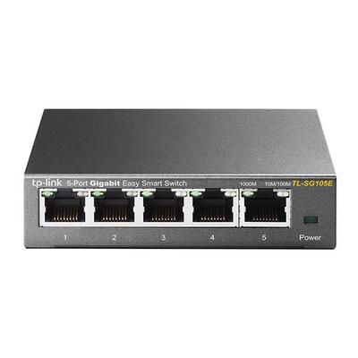 TP-LINK TL-SG105E Switch - Zwart