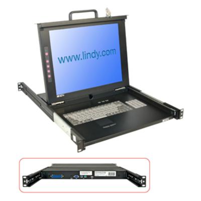 Lindy 21606 Rack console - Zwart