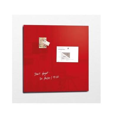 Sigel magnetisch bord: GL202 - Rood