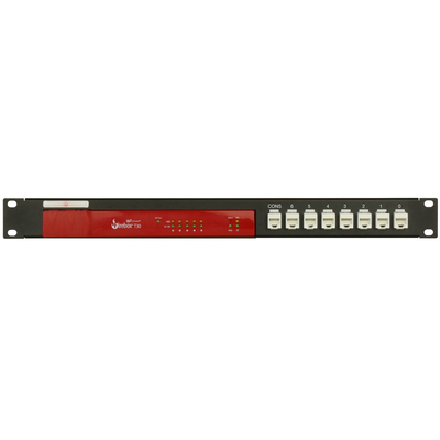Rackmount.IT 1U, 44 x 482 x 217mm, 8 x RJ-45 Rack toebehoren - Zwart