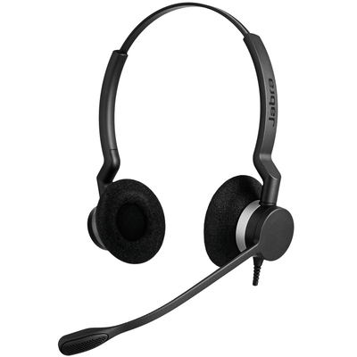 Jabra Biz 2300 Duo Headset - Zwart