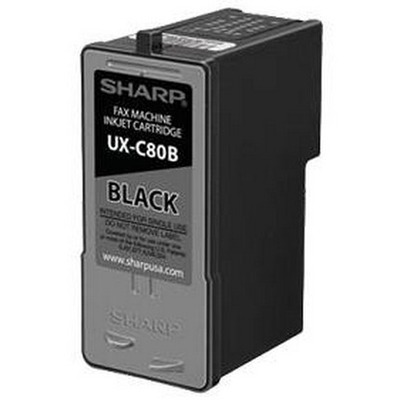 Sharp UXC80BK inktcartridges