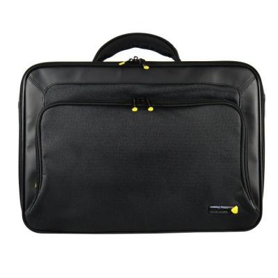 "Tech air 43.942 cm (17.3"") black, classic case, 0.8kg, foam protection. Laptoptas - Zwart"