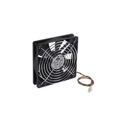 Fujitsu System Fan, 120 x 25 mm with Grill Cover Hardware koeling - Zwart