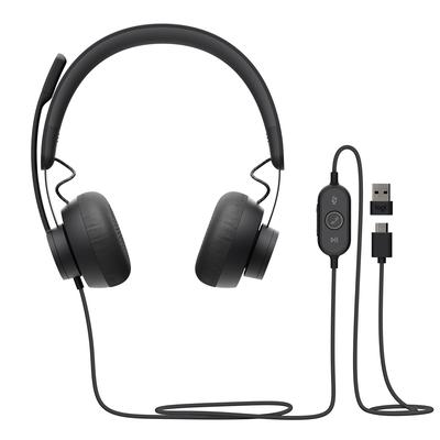 Logitech Zone 750 Headset - Grafiet