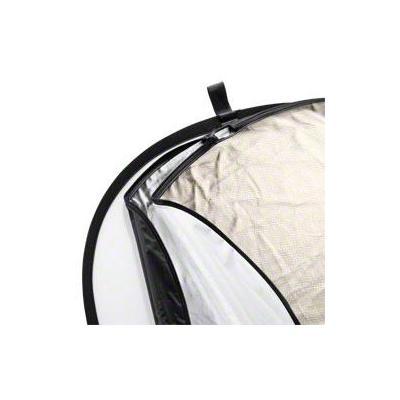 Walimex fotostudioreflector: 5in1 Foldable Reflector Set, 102x168cm - Zwart, Goud, Zilver, Transparant, Wit