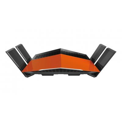 D-link wireless router: AC1750 EXO - Zwart, Oranje