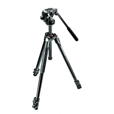 Manfrotto tripod: 290 XTRA Kit - Zwart