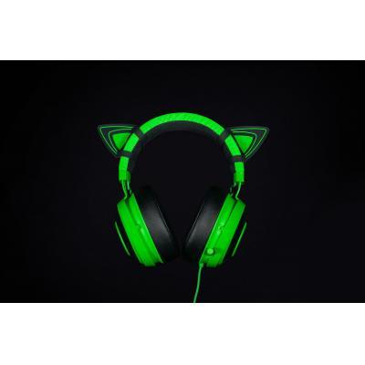 Razer Kitty Ears for Kraken Koptelefoon accessoire - Groen