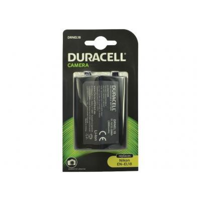 Duracell : Camera Battery - replaces Nikon EN-EL18 Battery - Zwart