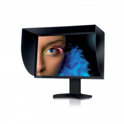 NEC monitor: SpectraView Reference 272 - Zwart