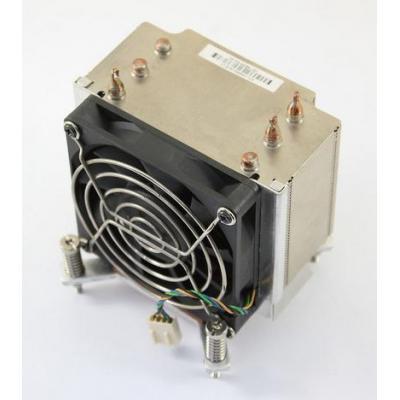 Hp Hardware koeling: Processor HeatSink and Fan - Zwart, Metallic
