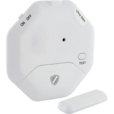Schwaiger : 95dB, 75x75x7mm, Plastic, White - Wit