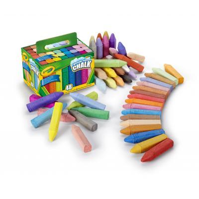 Crayola krijt: 48st. Stoepkrijt