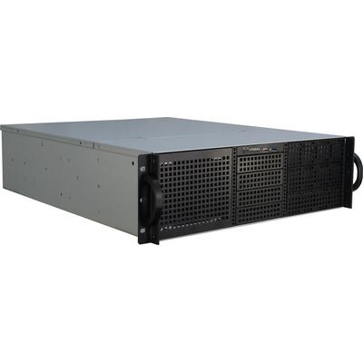 Inter-Tech 3U-30240 Behuizing - Zwart