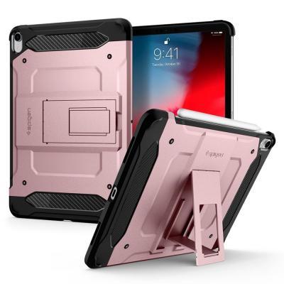 """Spigen iPad Pro 12.9"""" (2018) Case Tough Armor TECH Tablet case - Roségoud"""