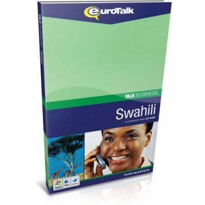 Eurotalk educatieve software: Talk Business, Leer Swahili (Gemiddeld, Gevorderd)