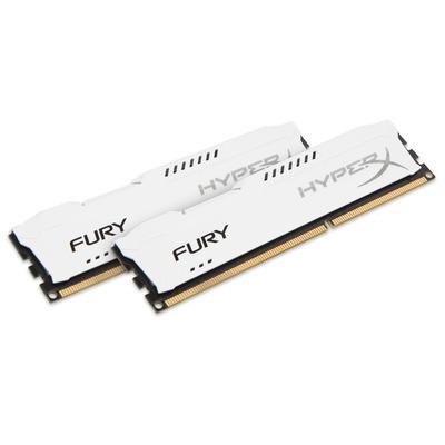 HyperX HyperX FURY White 8GB 1600MHz DDR3 RAM-geheugen - Wit
